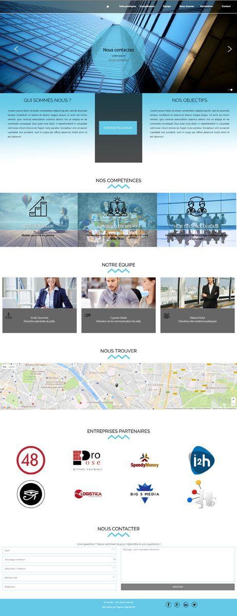 template organisation